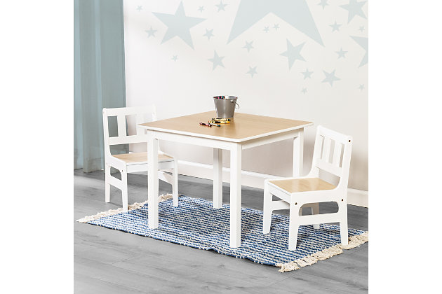 Honey-Can-Do Kids Table and Chairs Set, , large
