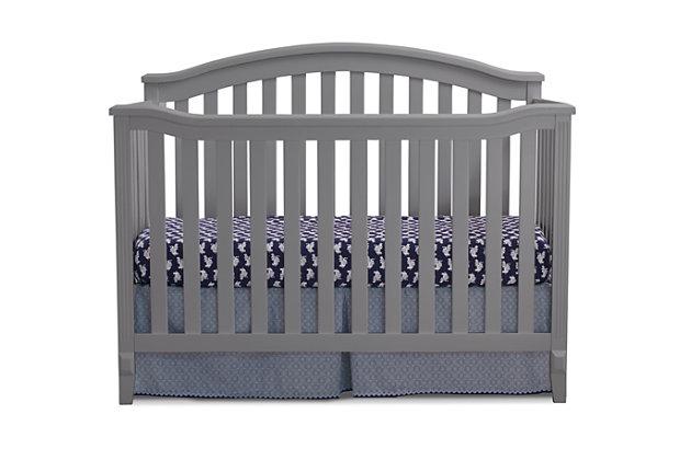 Sorelle  Berkley Crib, Gray, large