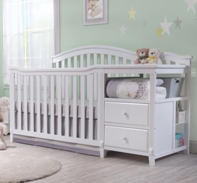 Sorelle  Berkley Crib & Changer, White, large