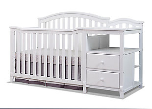 Sorelle  Berkley Crib & Changer, White, large