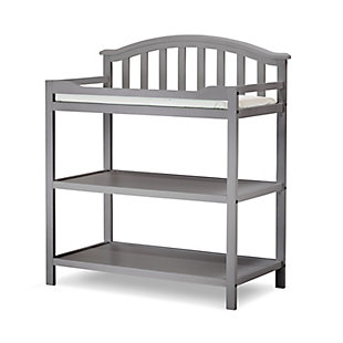 Sorelle  Berkley Dressing Table, Gray, large