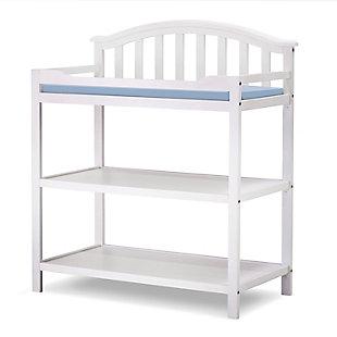 Sorelle  Berkley Dressing Table, White, large