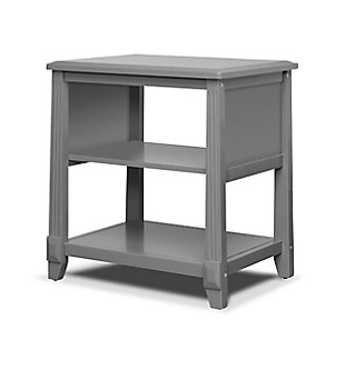 Sorelle  Berkley Nightstand, Gray, rollover
