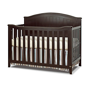 Sorelle  Fairview 4-in-1 Crib, Brown, large