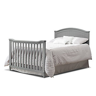 Sorelle  Fairview 4-in-1 Crib, Gray, large