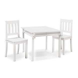 Sorelle  Imagination Table & Chair Set, White, large