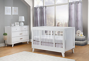 Sorelle  Uptown Acrylic Crib, , rollover