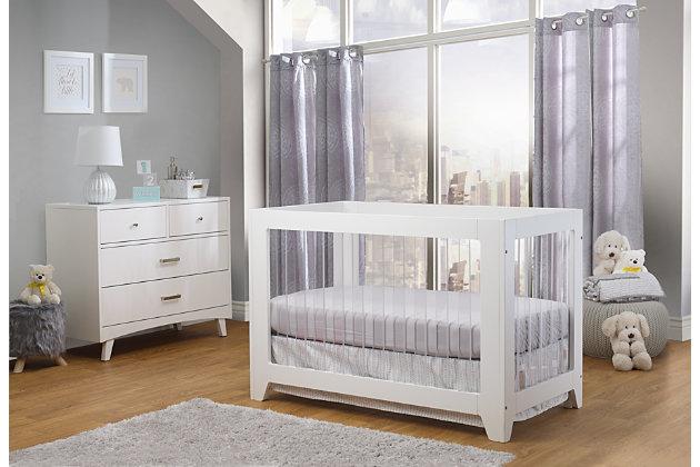Sorelle  Soho Acrylic Crib, , large