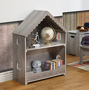 Sorelle  Sweethome Bookcase, Gray, rollover