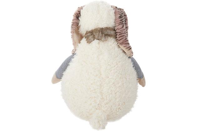Nourison Kids Mina Plush Bunny Animal Pillow, , large