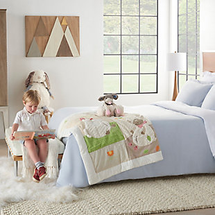Nourison Kids Mina Victory Mouse Animal Pillow With Blanket, , rollover