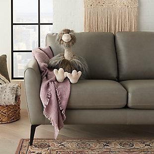 Nourison Kids Mina Victory Ostrich Animal Pillow, , rollover
