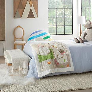 Nourison Kids Plushlines Blanket, , rollover