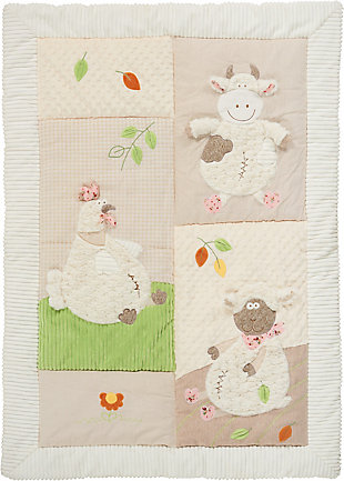 Nourison Kids Plushlines Blanket, , large