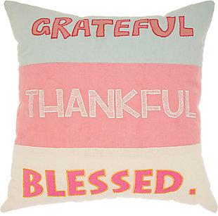 Nourison Kids Trendy Grateful Pillow, , large