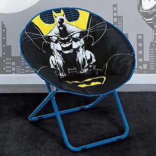 Delta Children Batman Saucer Chair For Kids/teens/young Adults, , rollover