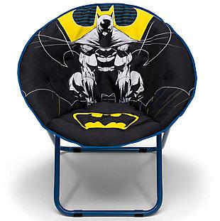 Delta Children Batman Saucer Chair For Kids/teens/young Adults, , large