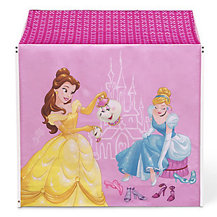 Delta Children Disney Princess Indoor Playhouse With Fabric Tent For Boys And Girls, , large