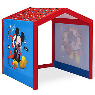 Delta Children Disney Mickey Mouse Indoor Playhouse With Fabric Tent For Boys And Girls, , large
