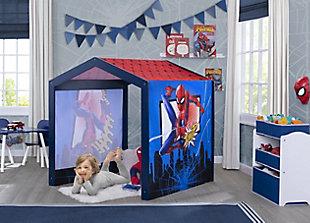Delta Children Marvel Spider-Man Indoor Playhouse with Fabric Tent for Boys and Girls, , rollover