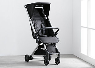 Delta Children Jeep Arrow Travel Stroller, Jet Black, Black, rollover
