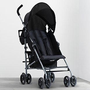 Delta Children Pilot Stroller, Black, , rollover