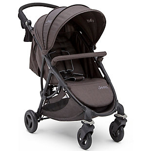 Delta Children Jeep Gemini Stroller, Boeing, Black/Gray, large