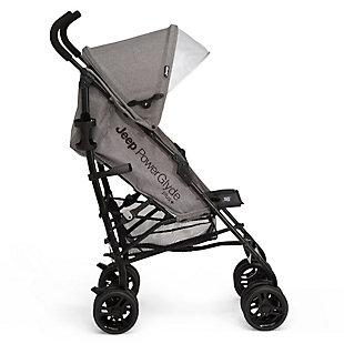 Delta Children Jeep PowerGlyde Plus Stroller, Gray, , large