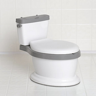 Delta Children Kid Size Toddler Potty for Boys & Girls - Includes Soft Seat with Built-In Splash Guard, , rollover
