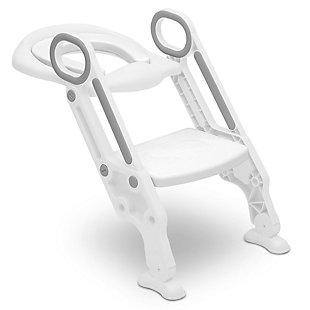 Delta Children Toddler Potty Training Ladder Seat - Adjustable Height, Soft Removable Seat & Built-In Splash Guard, , large