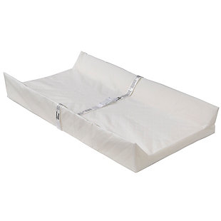 Delta Children Beautyrest Foam Contoured Changing Pad with Waterproof Cover, , large