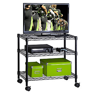 Honey-Can-Do 3-Tier Media Cart, , large