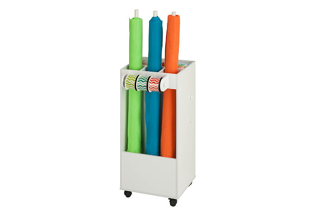 Honey-Can-Do Craft Storage Cart with Fabric Drawer, , large
