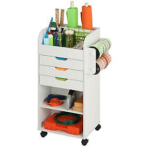 Honey-Can-Do Craft Storage Cart, , large
