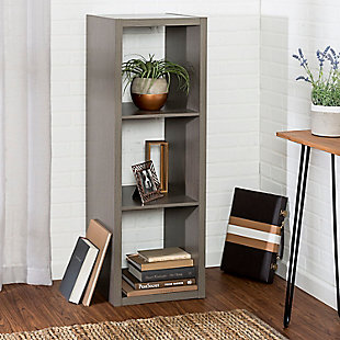 Honey-Can-Do 3 Cube Premium Laminate Storage Shelf, , rollover