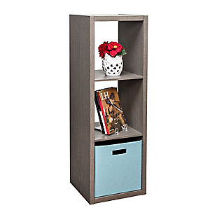Honey-Can-Do 3 Cube Premium Laminate Storage Shelf, , large