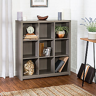 Honey-Can-Do 9 Cube Premium Laminate Storage Shelf, , rollover