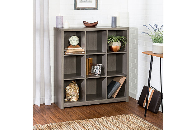 Honey-Can-Do 9 Cube Premium Laminate Storage Shelf, , large