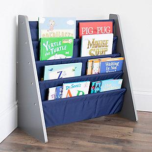 Humble Crew Newport Kids Bookshelf 4 Tier Book Organizer, , rollover