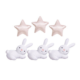 Sammy & Lou Cottontail Cloud Musical Crib Mobile, , rollover