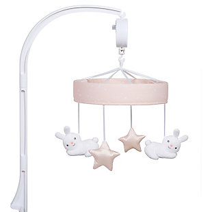 Sammy & Lou Cottontail Cloud Musical Crib Mobile, , large
