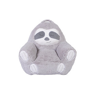 Cuddo Buddies by Trend Lab Sloth Plush Character Chair, , large