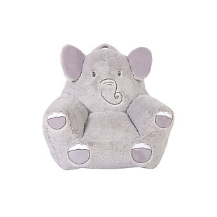 Cuddo Buddies by Trend Lab Elephant Plush Character Chair, , large
