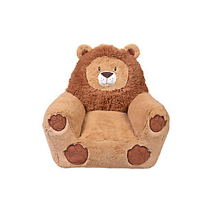 Cuddo Buddies by Trend Lab Lion Plush Character Chair, , large