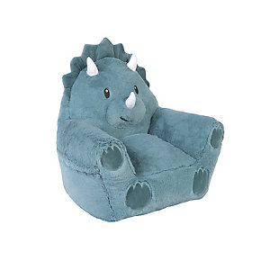 Cuddo Buddies by Trend Lab Dinosaur Plush Character Chair, , rollover