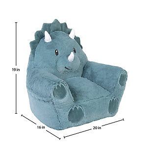 Cuddo Buddies by Trend Lab Dinosaur Plush Character Chair, , large