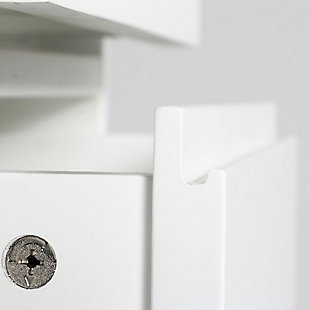 Simpli Home Draper Four Drawer Floor Storage Cabinet, , large