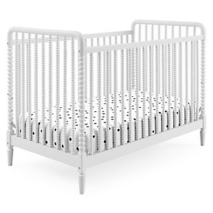 Delta Children Saint 4-in-1 Convertible Crib, Bianca White, large