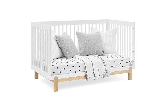 Delta Children Poppy 4-in-1 Convertible Crib, Bianca White, large