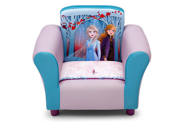 Delta Children Disney Frozen II Upholstered Chair, , large